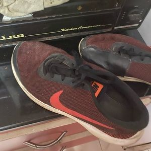 Nike shoes. With patch 2 pair